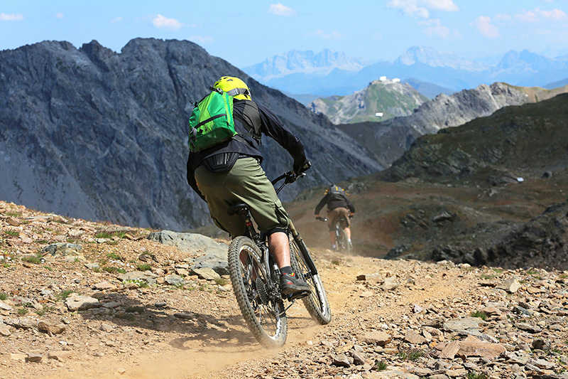 Freeridetrails Kitzsteinhorn - ein Bikepark in Salzburger Land